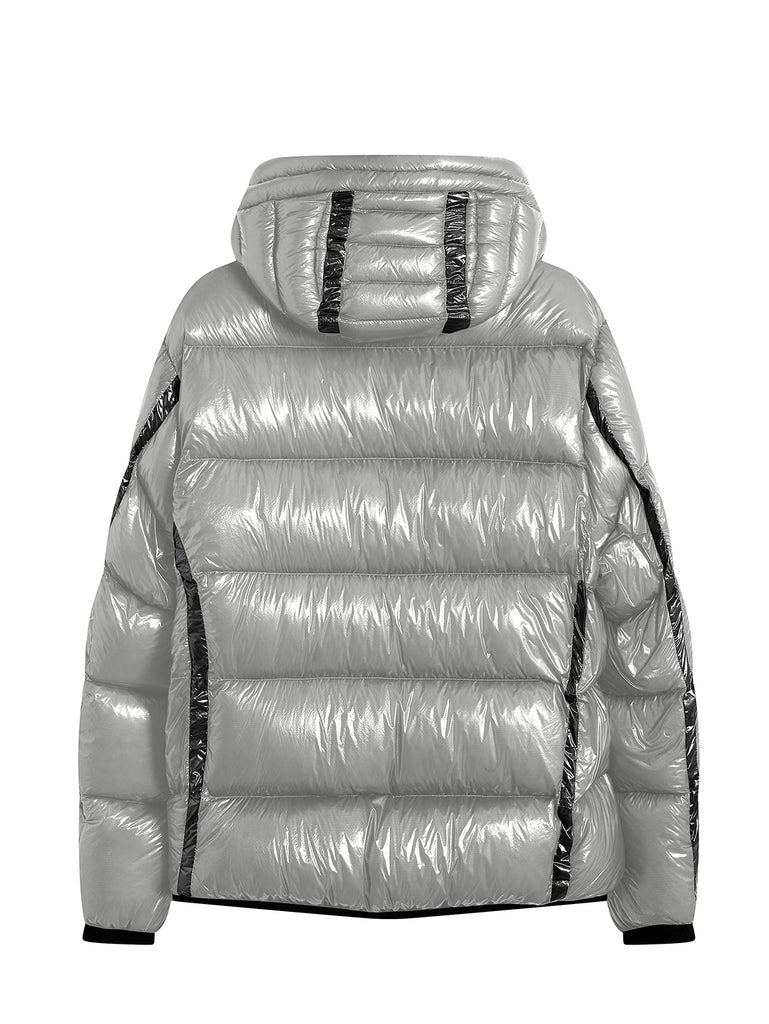 DD Shell Padded Lens Jacket in Quiet Grey