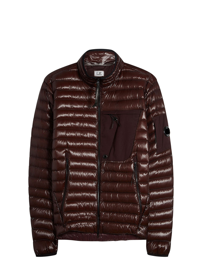 D.D. Shell Goggle Jacket in Bitter Chocolate
