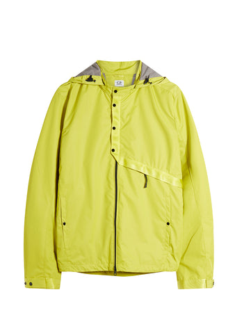 Micro-M Hooded Overshirt in Sulphur Spring