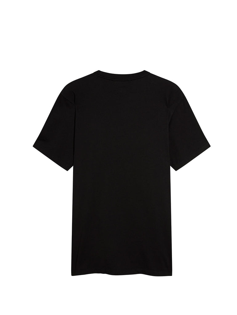 Jersey 20/1 Crew T-Shirt in Black