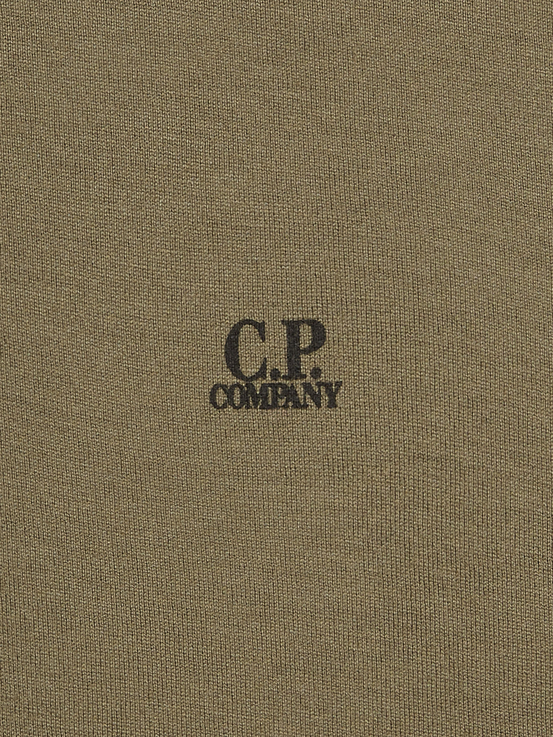 12622069d392 C.P. Company | Long Sleeve Mako Cotton Jersey Polo Shirt in Dusty Olive