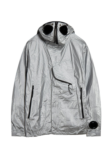 Memec Explorer Goggle Jacket in Silver