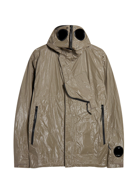 Memec Explorer Goggle Jacket in Brindle Grey