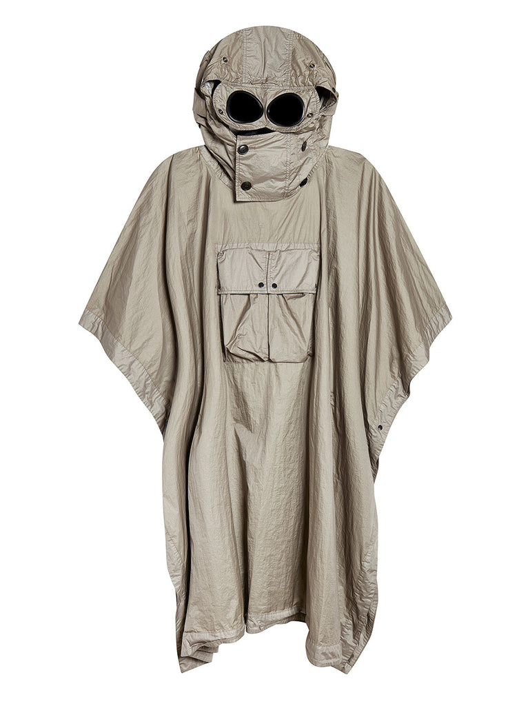 NyFoil Goggle Poncho in Brindle Grey