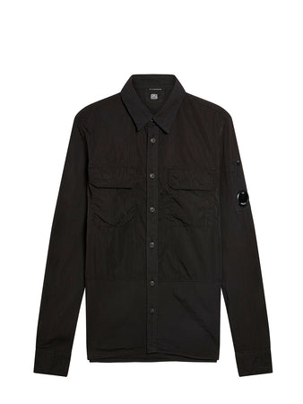 50 Fili Mixed Shirt in Black