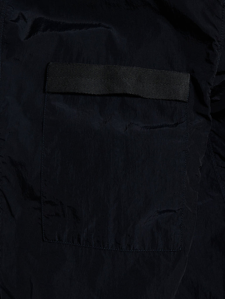Chrome Garment Dyed Goggle Overshirt in Total Eclipse
