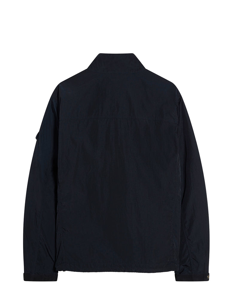 Chrome Quarter Zip Overshirt in Total Eclipse