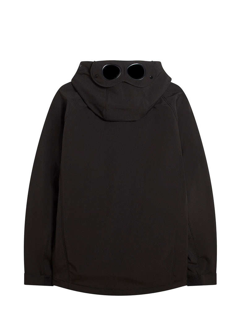 CP Shell Pull Over Goggle Jacket in Black