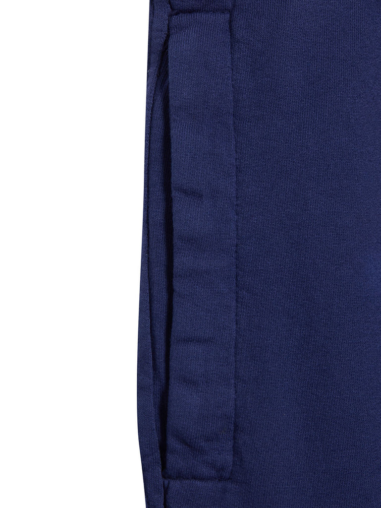 Garment Dyed Light Fleece Lens Shorts in Blueprint