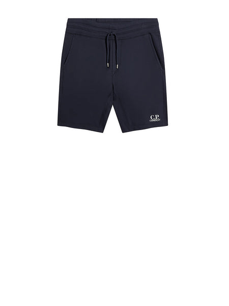 Garment Dyed Light Fleece Track Shorts in Total Eclipse