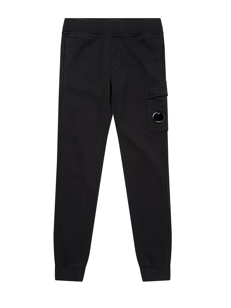 Undersixteen Basic Fleece Lens Sweatpants in Black