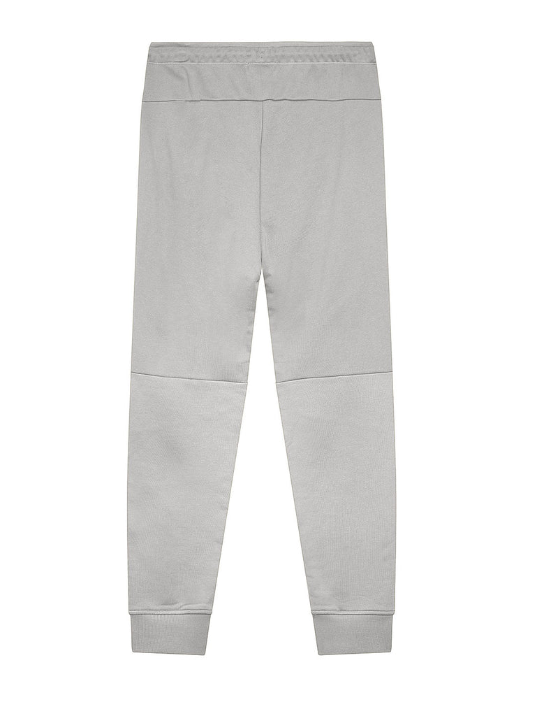 Diagonal Raised Fleece Tapered Lens Pocket Sweatpants in Grey Melange