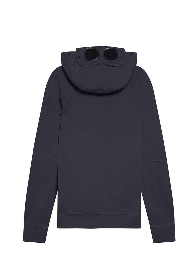Old Chic 30/1 Fleece Goggle Hoodie in Total Eclipse