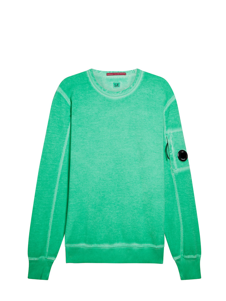 I.C.E. Cotton Fleece Lens Sweatshirt in Jelly Bean