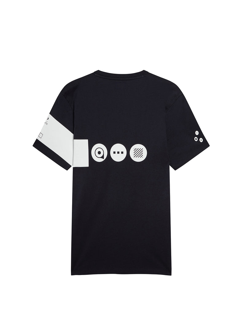 Jersey 30/1 Instruction T-Shirt in Total Eclipse