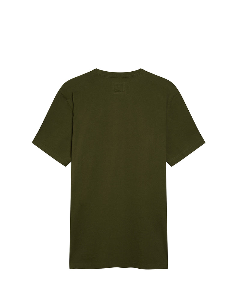 Jersey 30/1 020 Spray T-Shirt in Forest Night