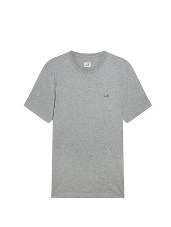Jersey 30/1 Logo T-Shirt in Grey Melange