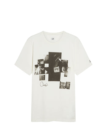 Rejjie Snow Jersey 20/1 T-Shirt in Gauze White
