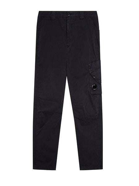 Garment Dyed Sateen Lens Pocket Pants in Total Eclipse
