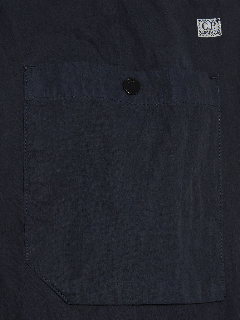 50 Fili Garment Dyed Pants in Total Eclipse