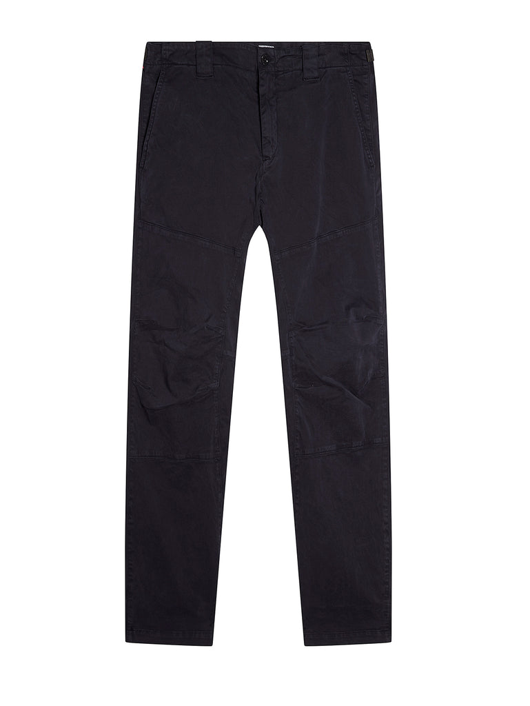 Garment Dyed Sateen Ergonomic Pants in Total Eclipse