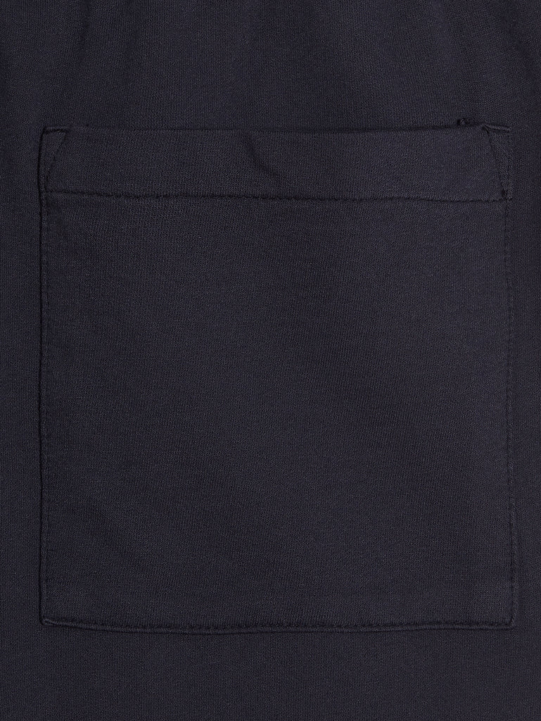 Garment Dyed Light Fleece Lens Pocket Sweatpants in Total Eclipse