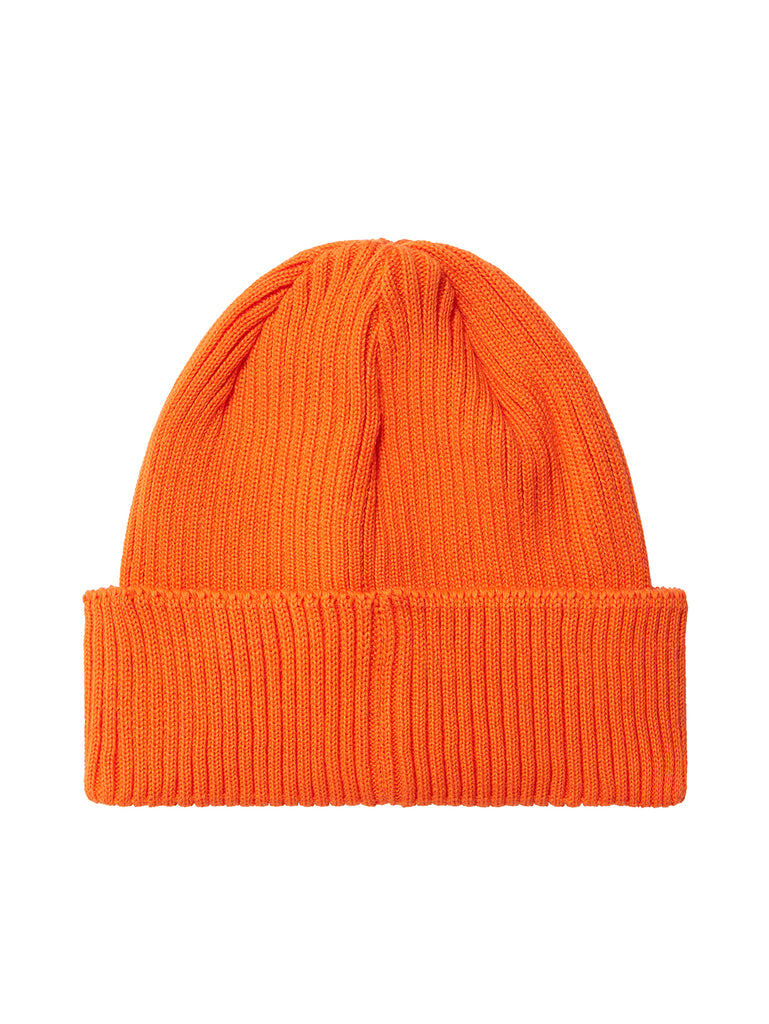 Undersixteen Cotton Goggle Beanie in Spicy Orange
