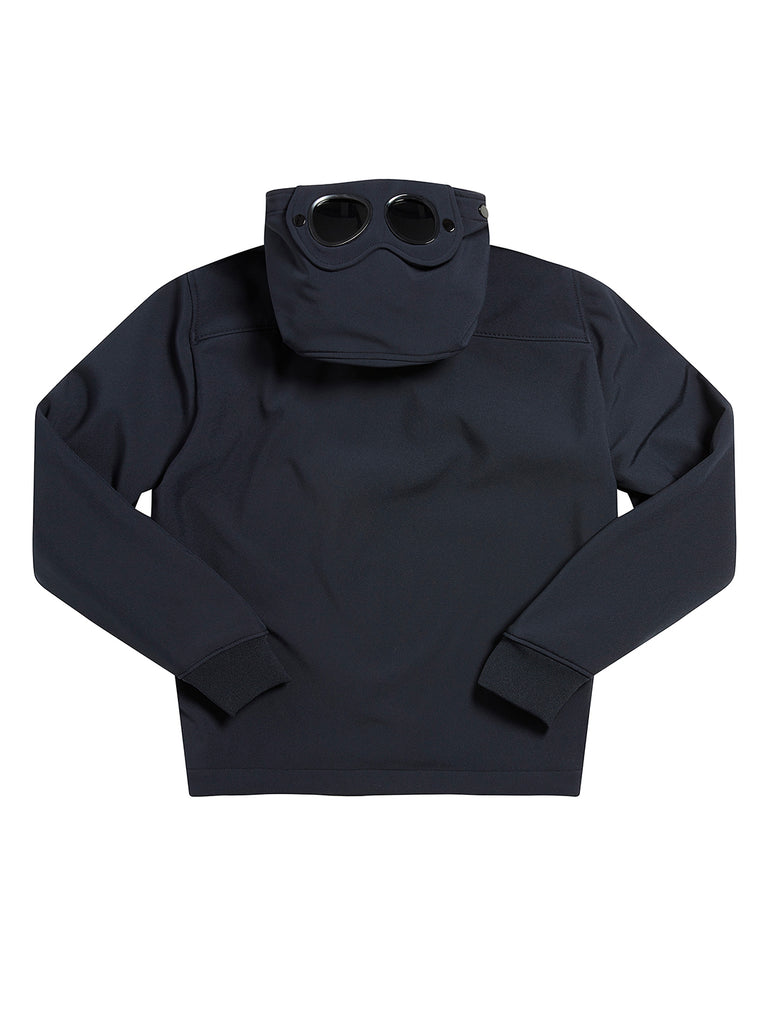 Undersixteen C.P. Shell Goggle Hood Jacket in Total Eclipse