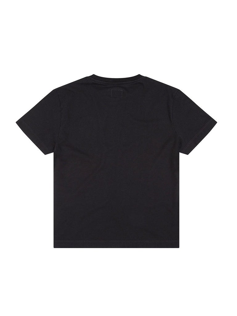 Undersixteen Sailor Print Mako Cotton T-Shirt in Black