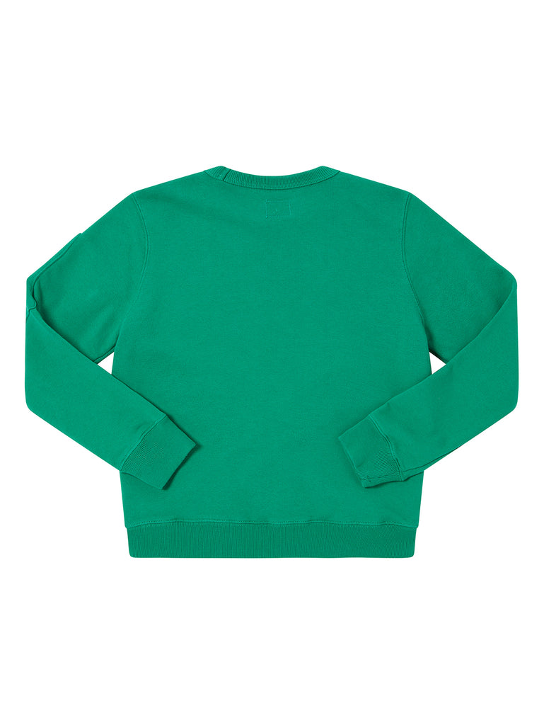 Undersixteen Basic Fleece Lens Sweatshirt in Jelly Bean