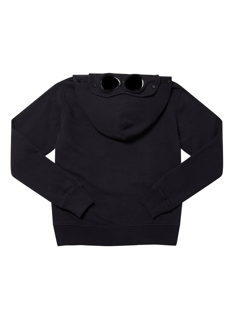 Undersixteen Basic Fleece Goggle Hoodie Sweatshirt in Total Eclipse