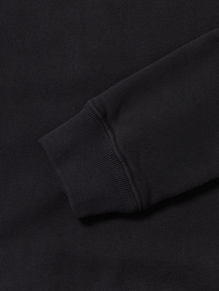 Undersixteen Basic Fleece Lens Sleeve Sweater in Total Eclipse