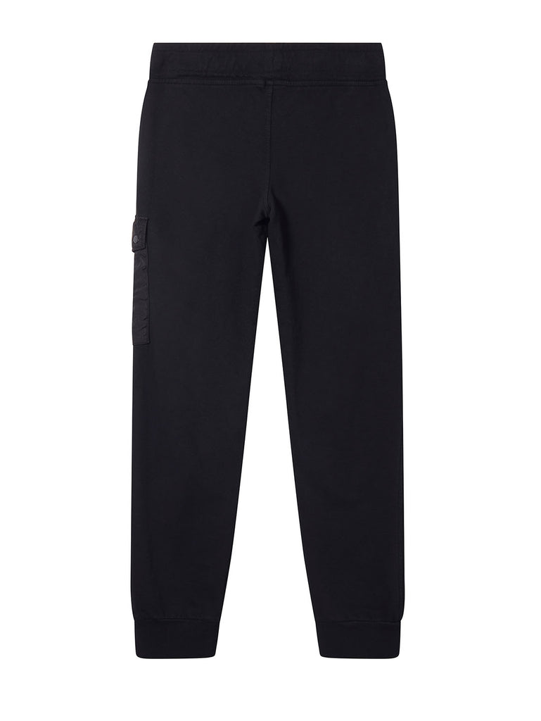 Undersixteen Garment Dyed Light Fleece Track Pants in Black