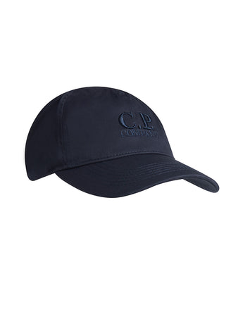 Gabardine Logo Cap in Total Eclipse