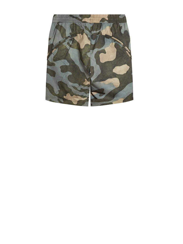 Pro-Tek Camo Lens Shorts in Blue Camouflage