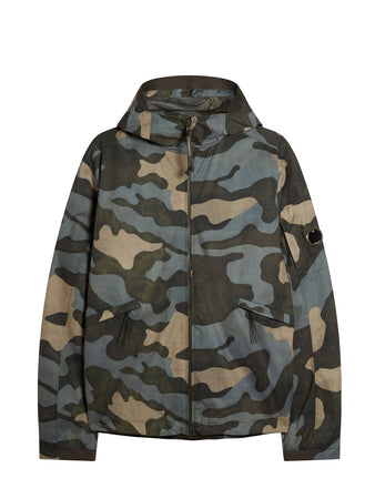Pro-Tek Camo Medium Lens Jacket in Blue Camouflage