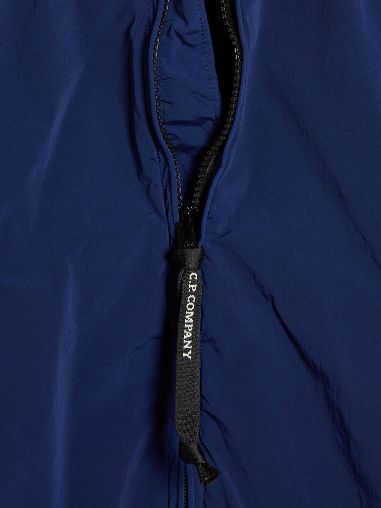 Garment Dyed Nycra Jacket in Blueprint