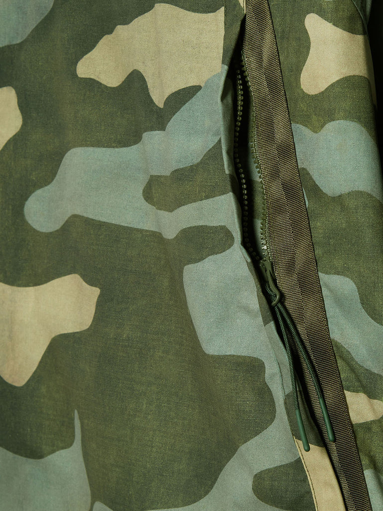 Pro-Tek Camo Pullover Lens Smock in Green Camouflage