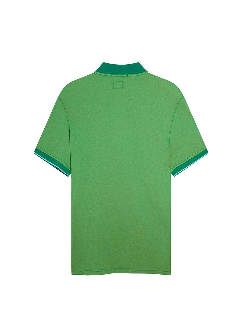 Garment Dyed Tacting Pique Polo Shirt in Jelly Bean