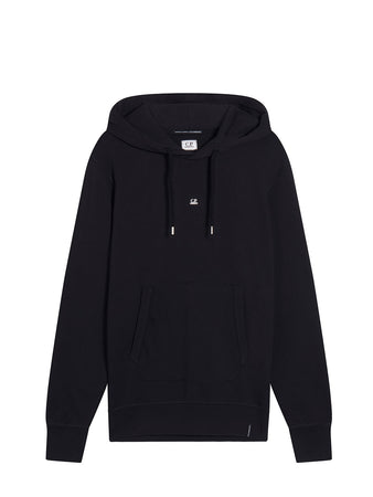 Fleece 30/1 Comics And Cars Hoodie in Black