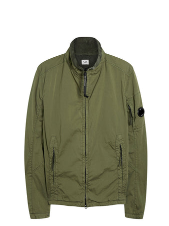 Raso C-P Garment Dyed Medium Jacket in Burnt Olive