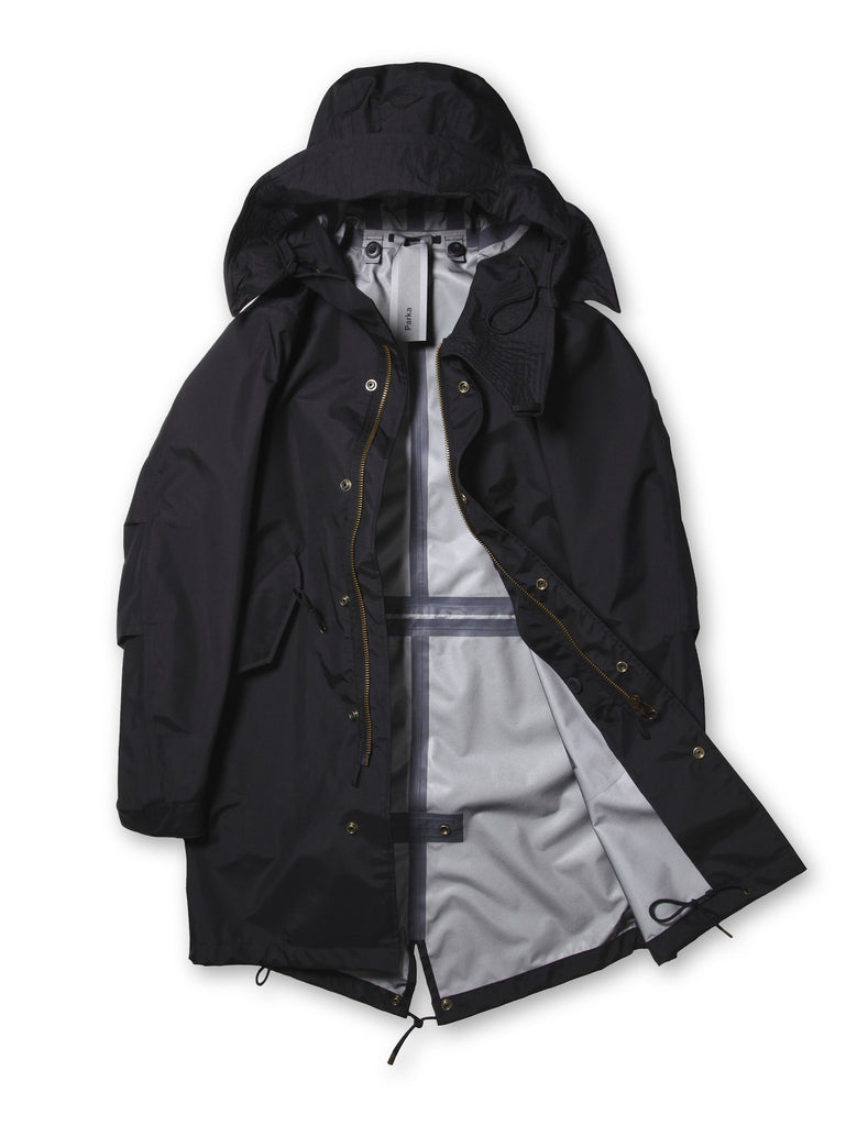 Ten c / NASTRATO Parka in Black