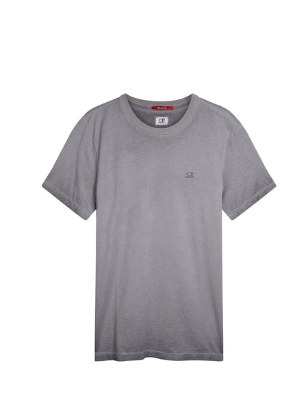 Re-Colour Mako Cotton T-Shirt in Dark Fog Grey