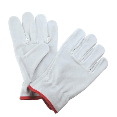 TopMart Hand Gloves Leather Split  2 Pair