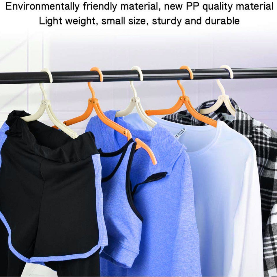 TopMart Portable Folding Clothes Hangers / Drying Rack