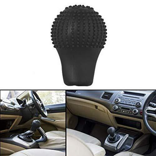 TopMart Anti-Scratch Universal Fit Silicon Gear Shift Knob Protective Cover