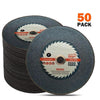 "TopMart Steel and Iron Cutting Wheel 4"" (107 x 1 x 16 mm)"