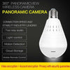 TopMart Panoramic Camera Light Bulb (WiFi Wireless Smart spy Bulb)