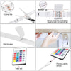 TopMart RGB Remote Control LED Strip Light- 16 Colors Changing, Waterproof (5-Meter)