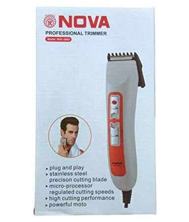 Nova 3663 Professional Hair Trimmer Razor Shaving Machine (NHC-3663)